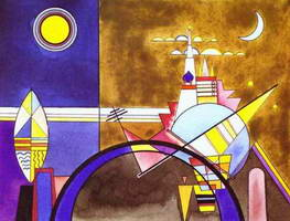 Picture XVI. The Great Gate of Kiev (1928) by Wassily Kandinsky