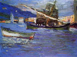 Rapallo Grauer day (1905) by Wassily Kandinsky