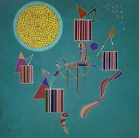 Intime message (1942) by Wassily Kandinsky