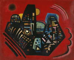 Wassily Kandinsky. Black-Red, 1928