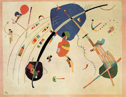 Towards the Blue (1939) by Wassily Kandinsky