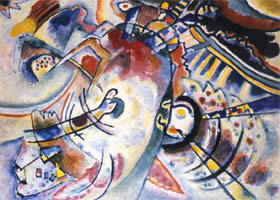 Non-Objective (1910) by Wassily Kandinsky