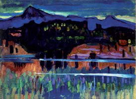 Murnau am Staffelsee (1905) by Wassily Kandinsky