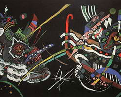 Wassily Kandinsky. Draft for Mural In The Unjuried Art Show, Wall B, 1922