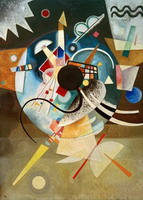 A Center (1924) by Wassily Kandinsky