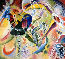Improvisation 35 (1914) by Wassily Kandinsky