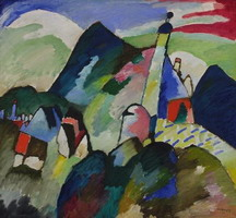 Church in Murnau (1910) by Wassily Kandinsky