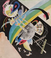 Wassily Kandinsky. Circles on Black,
