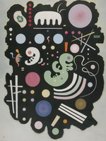 Variegated Black (1935) by Wassily Kandinsky