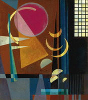 Wassily Kandinsky. Sharp - Quiet, 1927