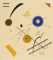 Three Free Circles (1923) by Wassily Kandinsky