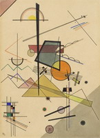 Wassily Kandinsky. Melodious, 1924