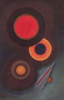 Wassily Kandinsky. Composition with circles and lines, 1926
