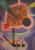 Wassily Kandinsky. Three Elements, 1925