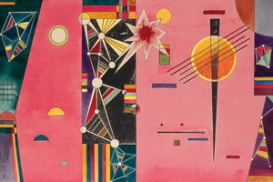 Pink Red (1927) by Wassily Kandinsky