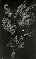 White Figure (1938) by Wassily Kandinsky