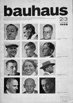 Cover of Bauhaus journal, 1928