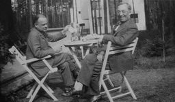 Klee and Kandinsky in Dessau, 1927