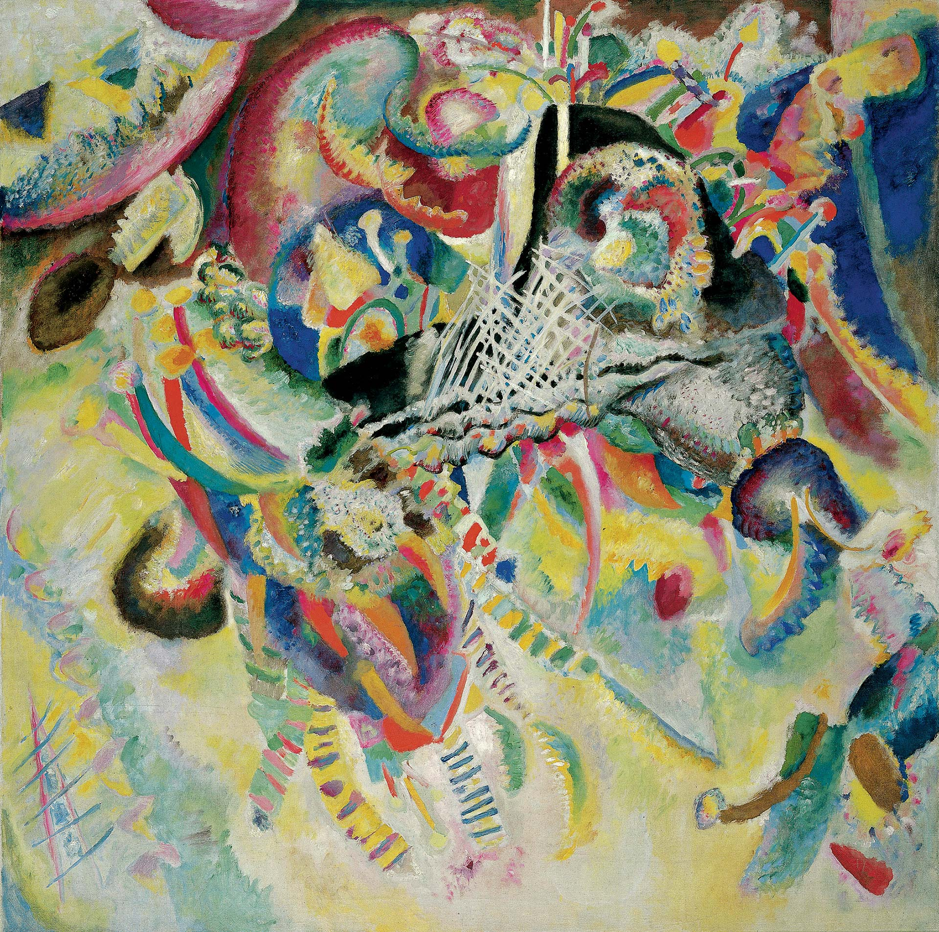 Fugue (1914)  by Wassily Kandinsky