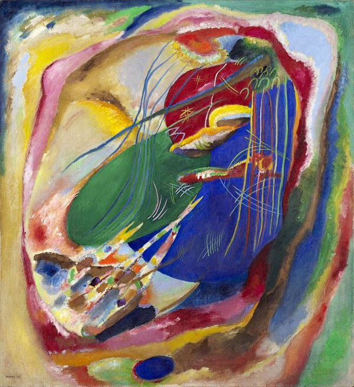 Wassily Kandinsky — Painting with Three Spots, 1914
