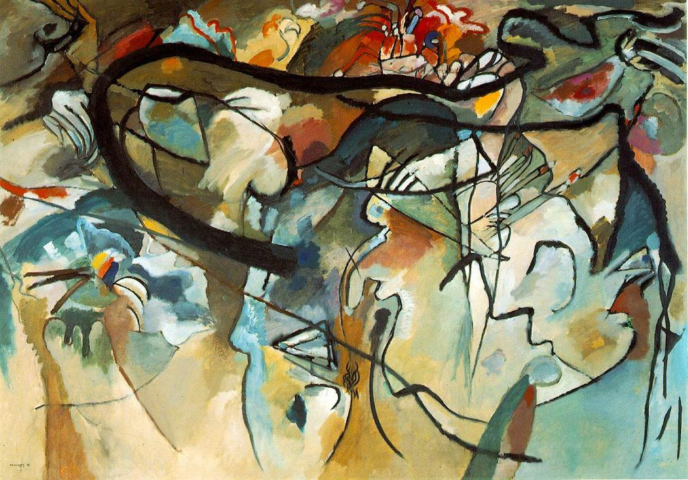 Composition V (1911)  by Wassily Kandinsky