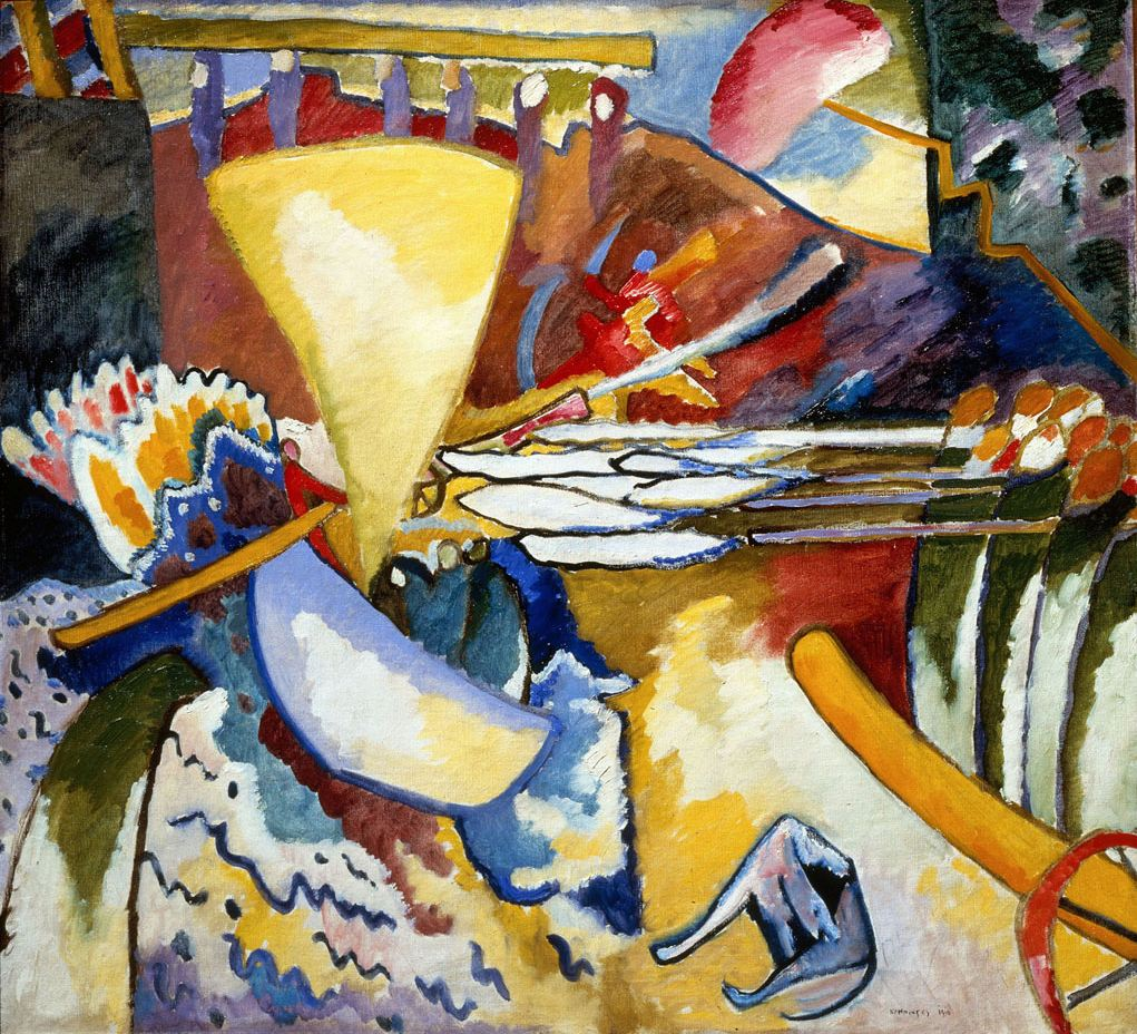 Improvisation 11 (1910)  by Wassily Kandinsky