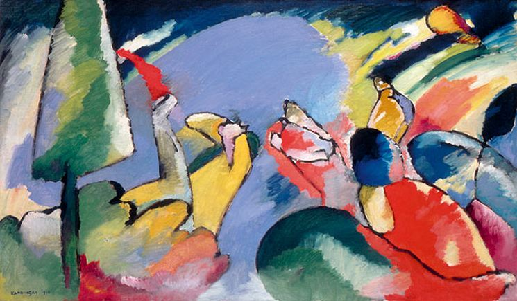 Improvisation 14 (1910)  by Wassily Kandinsky