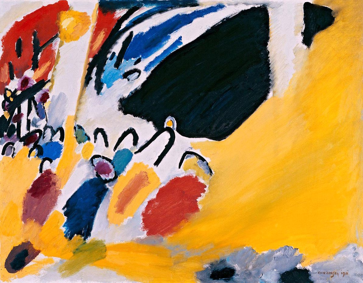 Impression III (Concert) (1911)  by Wassily Kandinsky