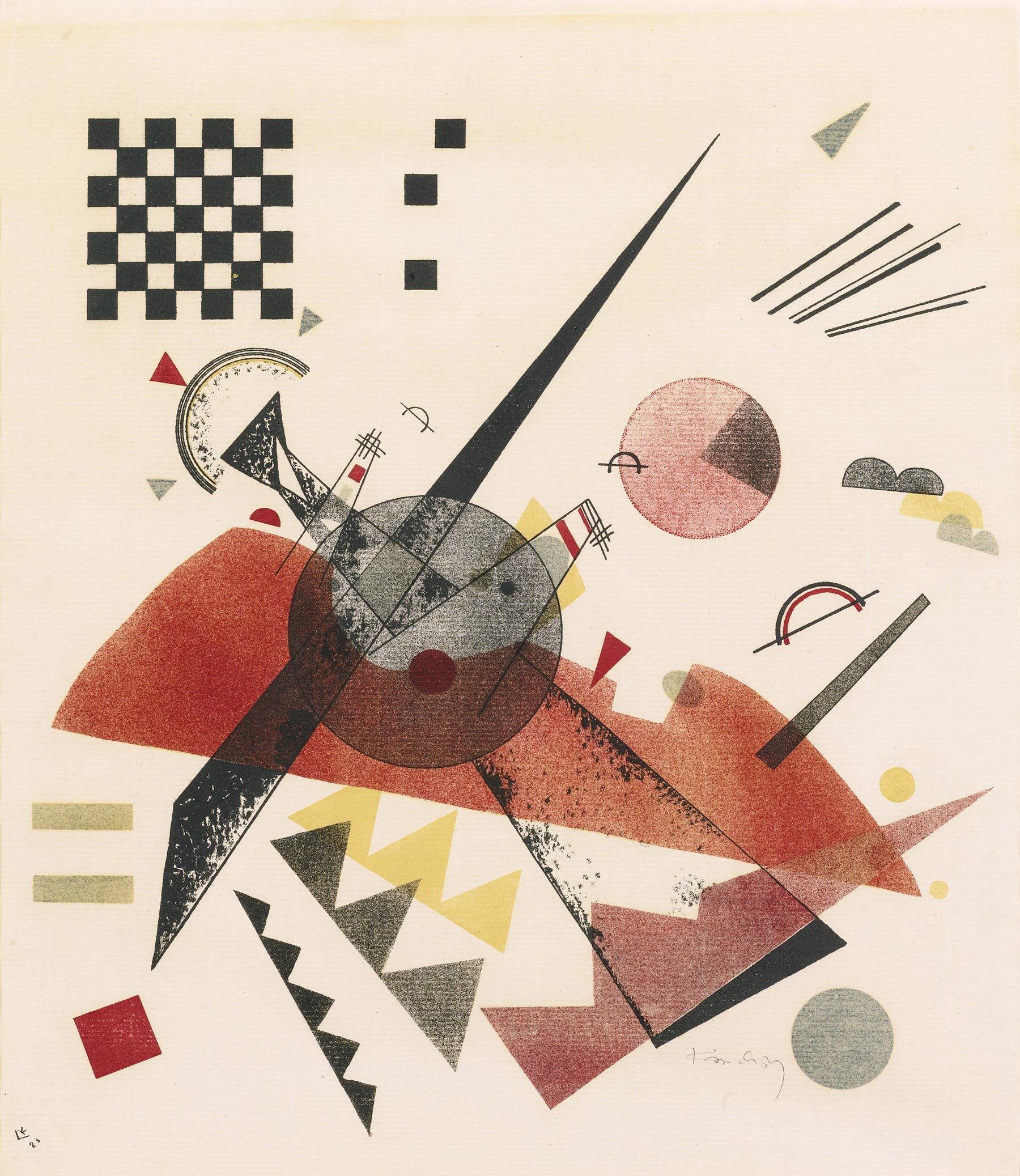 Orange (1923)  by Wassily Kandinsky