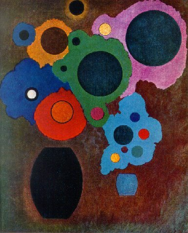 Black Increasing (1927)  by Wassily Kandinsky