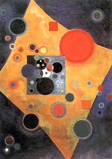 Accent on Rose (1926)  by Wassily Kandinsky