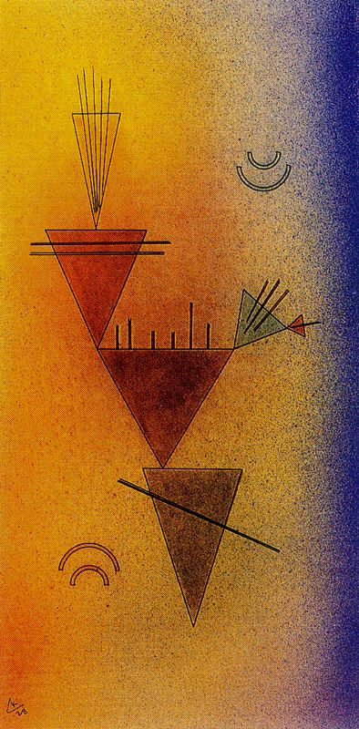 Little Game (1928)  by Wassily Kandinsky