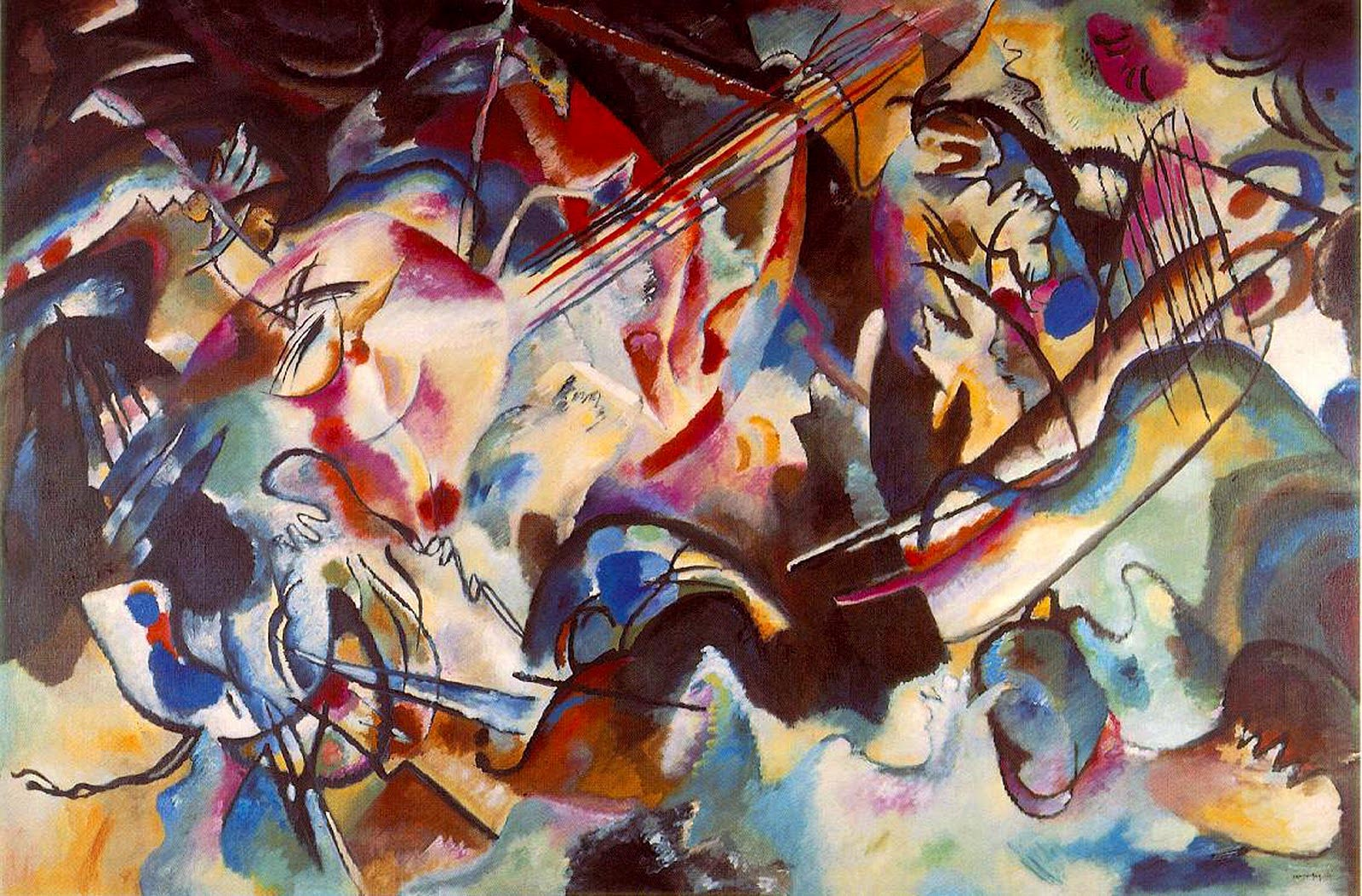 Composition VI (1913)  by Wassily Kandinsky