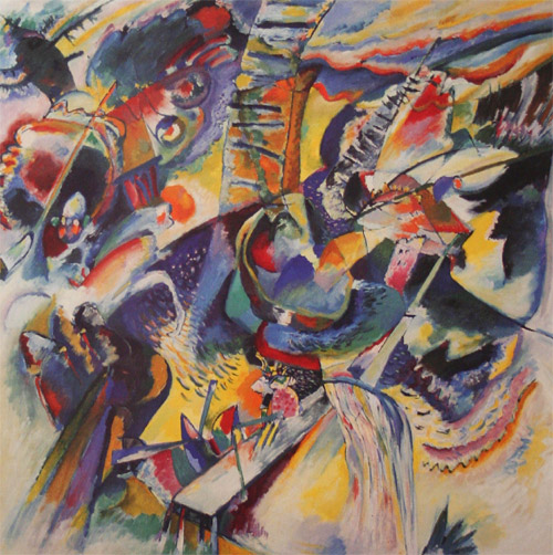 Improvisation. Gorge (1914)  by Wassily Kandinsky