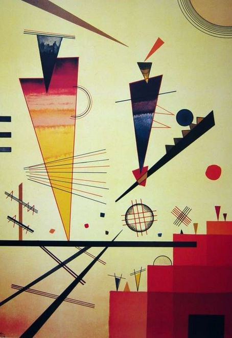 Merry Structure (1926)  by Wassily Kandinsky