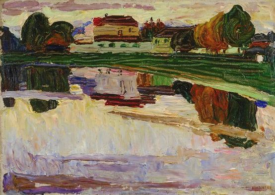 Nymphenburg (1904)  by Wassily Kandinsky