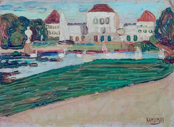 Nymphenburg (1902)  by Wassily Kandinsky
