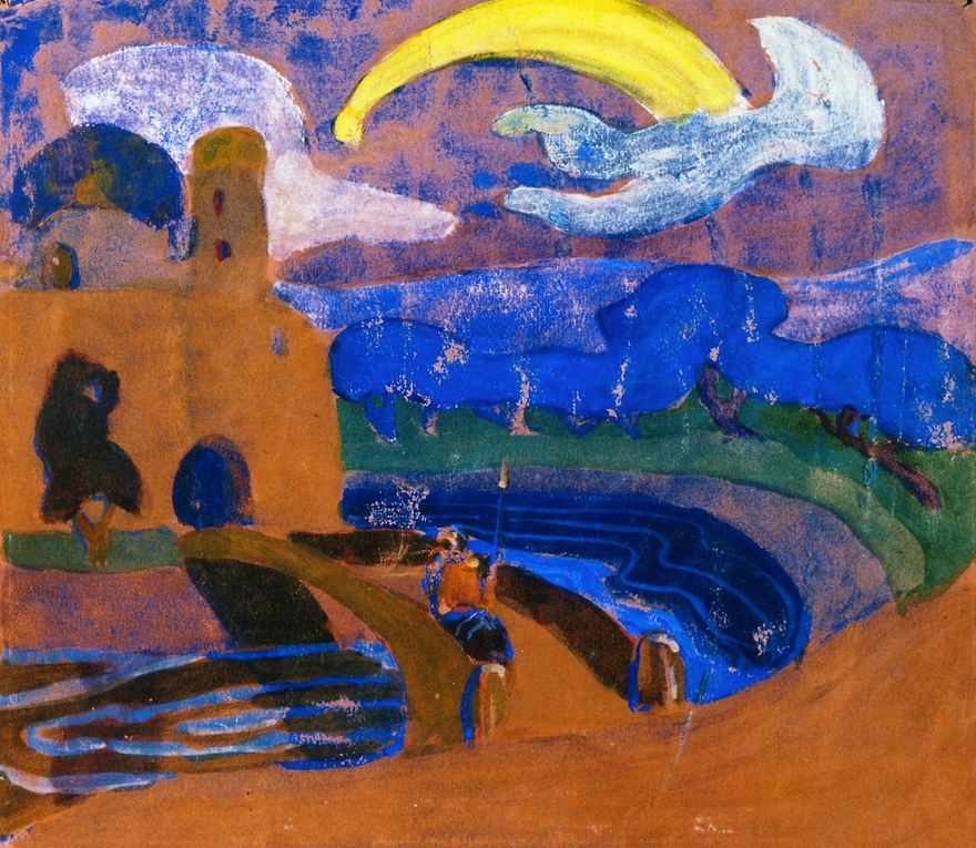 The Comet (1900)  by Wassily Kandinsky