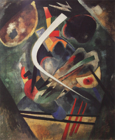 White line (1920)  by Wassily Kandinsky