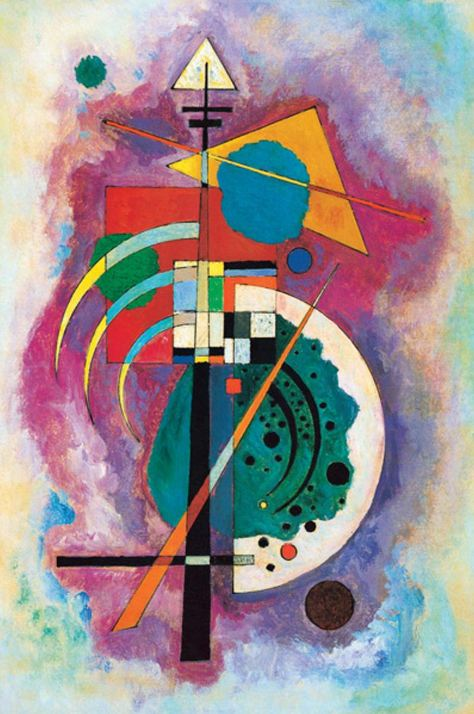 Hommage to Grohmann (1926)  by Wassily Kandinsky