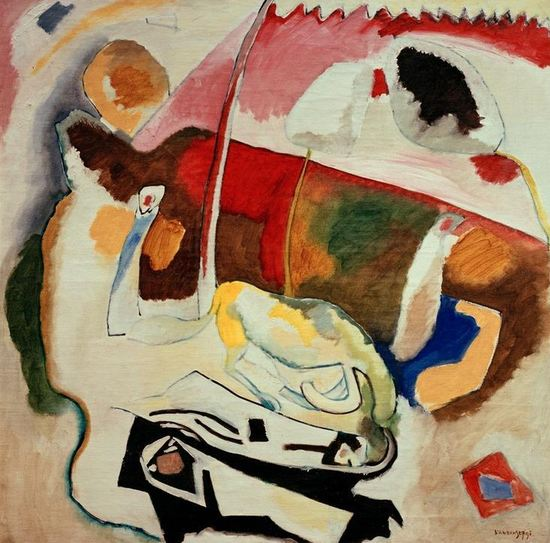 Improvisation 21 (1911)  by Wassily Kandinsky