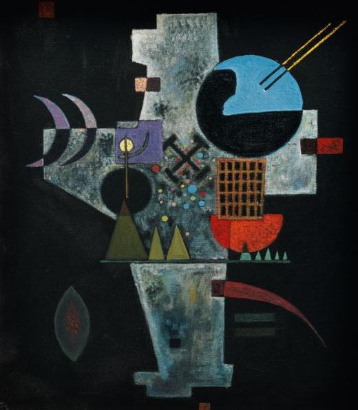 Cross (1926)  by Wassily Kandinsky