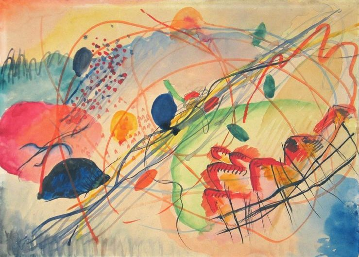 Watercolour No. 6 (1911)  by Wassily Kandinsky