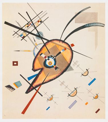 Composition I (1923)  by Wassily Kandinsky