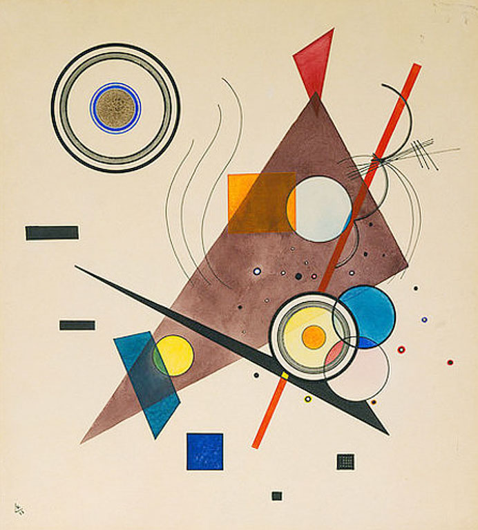 Composition II (1923)  by Wassily Kandinsky