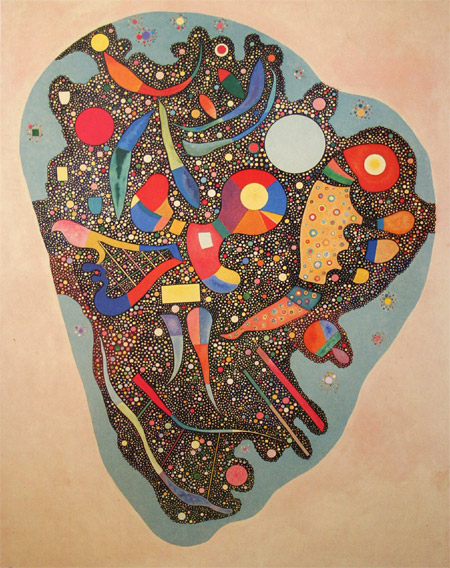 Colourful Ensemble (1938)  by Wassily Kandinsky