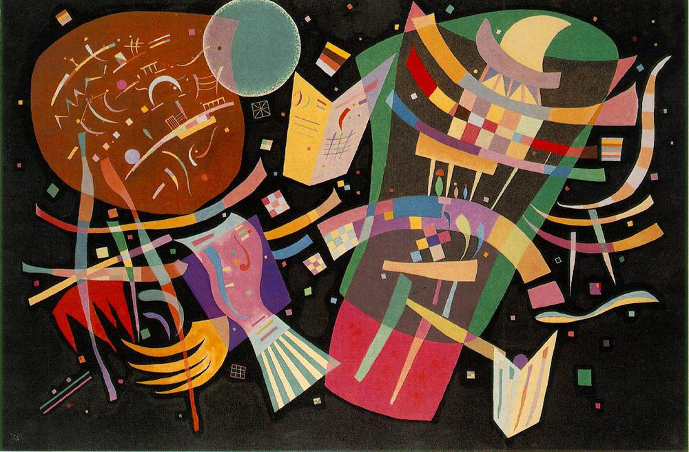 Composition X (1939)  by Wassily Kandinsky