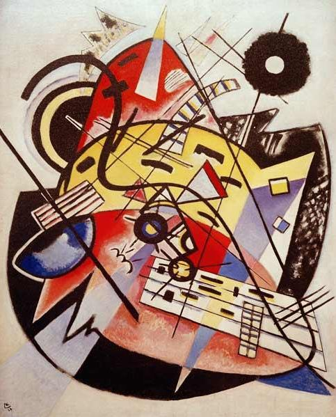 White Dot (1923)  by Wassily Kandinsky