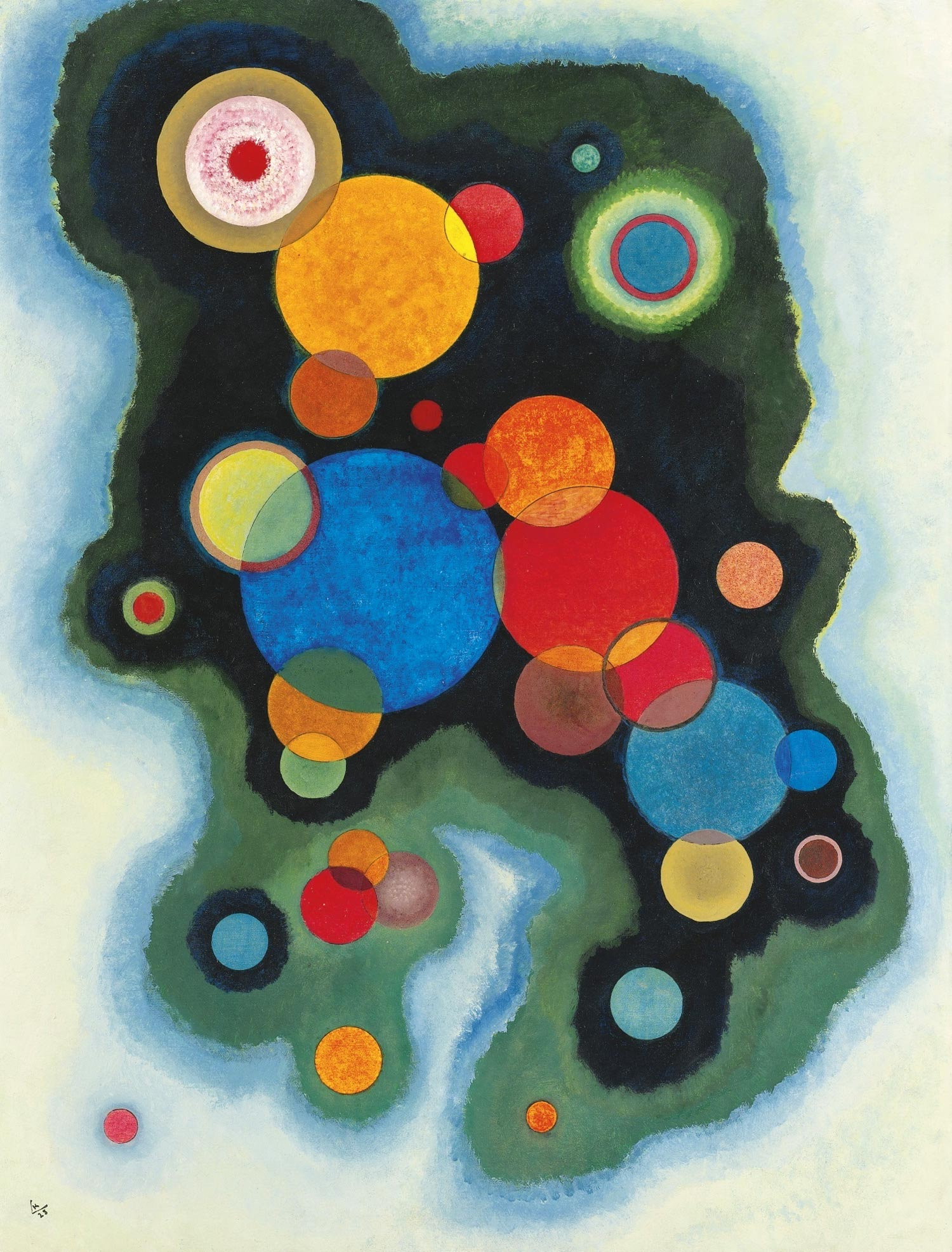 Deepened Impulse (1928)  by Wassily Kandinsky