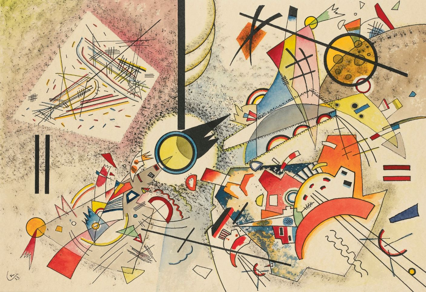 No Title (1923)  by Wassily Kandinsky